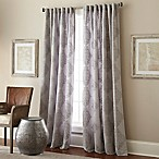 Talia 63-Inch Rod Pocket/Back Tab Window Curtain Panel in Grey