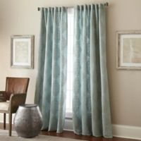 Talia 95-Inch Rod Pocket/Back Tab Window Curtain Panel in Spa