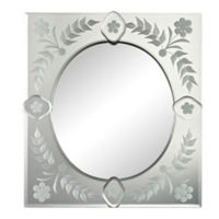 Sterling Industries 13.25-Inch x 15-Inch Time Square Mirror