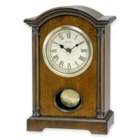 Bulova Dalton Table Clock in Walnut