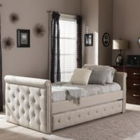 Baxton Studio Swamson Twin Daybed in Beige