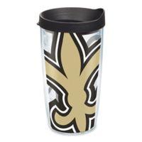 Tervis® New Orleans Saints 16-Ounce Wrap Tumbler with Black Lid