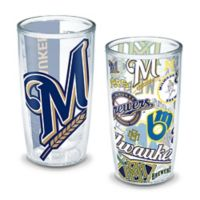 Tervis® MLB Milwaukee Brewers All-Over Wrap 16 oz. Tumblers (Set of 2)