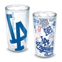 Tervis® MLB Los Angeles Dodgers All-Over Wrap 16 oz. Tumblers (Set of 2)