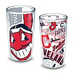 Tervis® MLB Cleveland Indians All-Over Wrap 16 oz. Tumblers (Set of 2)