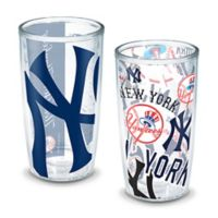 Tervis® MLB New York Yankees All-Over Wrap 16 oz. Tumblers (Set of 2)
