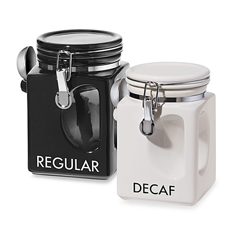 oggi kitchen canisters oggi ez grip coffee canisters bed bath amp beyond 14410