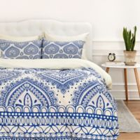 DENY Designs Aimee St Hill Decorative Blue Twin Duvet Cover in Blue