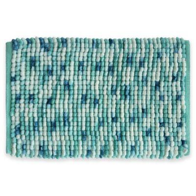 Bacova Harper 20 Inch X 30 Bath Rug In Blue