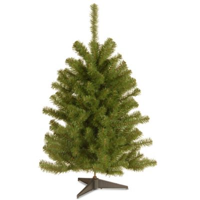 national tree 3 foot eastern spruce christmas tree - Small Black Christmas Tree