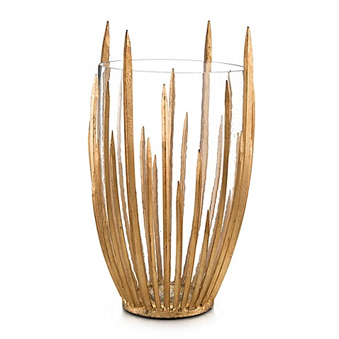 image of John-Richard 19-Inch Starstruck Vase in Gold