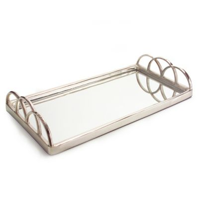 Bathroom Mirror Tray buy mirrored tray from bed bath & beyond