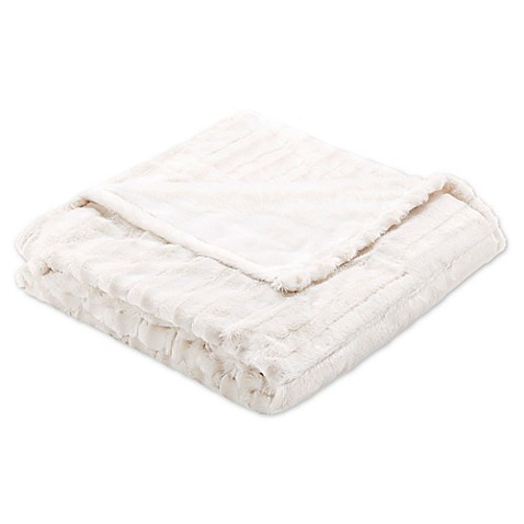 Buy Beautyrest Heated Throw Blanket In Champagne From Bed