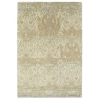 Kaleen Mercery Silkscreen 2-Foot x 3-Foot Accent Rug in Camel