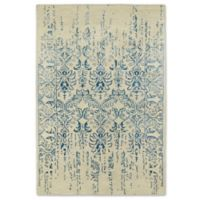 Kaleen Mercery Impressions 3-Foot 6-Inch x 5-Foot 6-Inch Area Rug in Blue