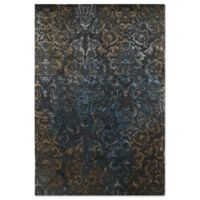 Kaleen Mercery Lithograph 3-Foot 5-Inches x 5-Foot 5-Inches Rug in Charcoal