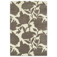 Kaleen Melange Floral Impressions 3-Foot x 5-Foot Rug in Grey