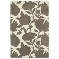 Kaleen Melange Floral Impressions 8-Foot x 10-Foot Rug in Grey