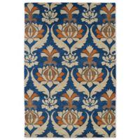 Kaleen Melange Paris 8-Foot x 10-Foot Rug in Blue