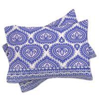 DENY Designs Aimee St Hill Decorative Blue Standard Pillow Sham in Blue