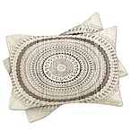 Deny Designs Iveta Abolina Winter Wheat King Pillow Shams in Grey (Set of 2)