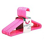 SALT™ 12-Pack Heavyweight Hangers in Bright Pink
