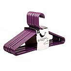 SALT™ 12-Pack Heavyweight Hangers in Purple