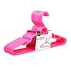 SALT™ 10-count Attachable Hangers in Bright Pink