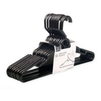 Attachable Hangers in Black (Set of 16)