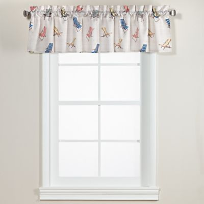 buy beach valances from bed bath & beyond