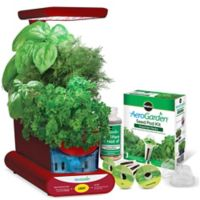 Miracle-Gro® AeroGarden® Sprout LED with Gourmet Herb Seed Pod Kit in Teal