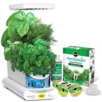 Miracle-Gro® AeroGarden® Sprout LED with Gourmet Herb Seed Pod Kit in White