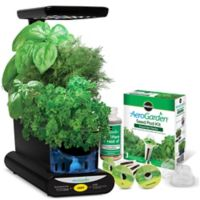 Miracle-Gro® AeroGarden® Sprout LED with Gourmet Herb Seed Pod Kit in Black