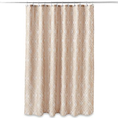 Taj Mahal 54 Inch X 78 Shower Curtain In Tan