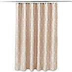 Taj Mahal 70-Inch x 72-Inch Shower Curtain in Tan