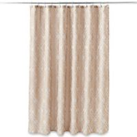 Taj Mahal 54-Inch x 78-Inch Shower Curtain in Tan
