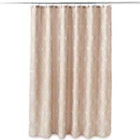 Taj Mahal 70-Inch x 72-Inch Shower Curtain in Tan