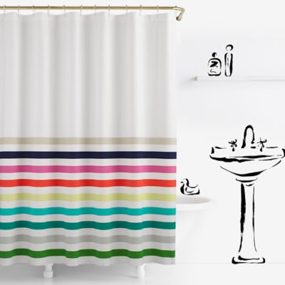 tasseled curtain west and shower elm trends striped latest gallery in the view from