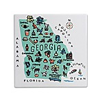 "My Place Georgia 7.75"" Square Trivet"