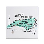 "My Place North Carolina 7.75"" Square Trivet"