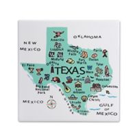 "My Place Texas 7.75"" Square Trivet"
