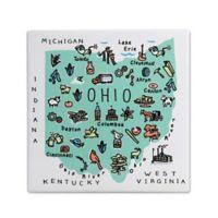 "My Place Ohio 7.75"" Square Trivet"