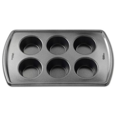 Wilton 174 Advance Select Premium Nonstick 6 Cup Muffin Pan