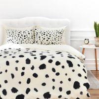 DENY Designs Rebecca Allen Miss Monroes Dalmatian Twin Duvet Cover