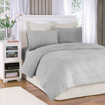 True North By Sleep Philosophy Soloft Plush King Sheet Set In Grey