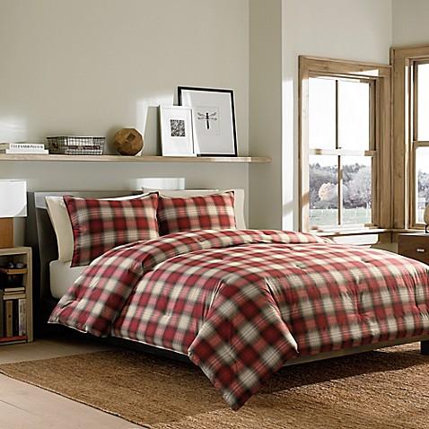 Buy Eddie Bauer 174 Navigation Plaid Twin Comforter Set In