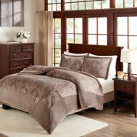 Premier Comfort Kramer Full/Queen Comforter Set in Taupe