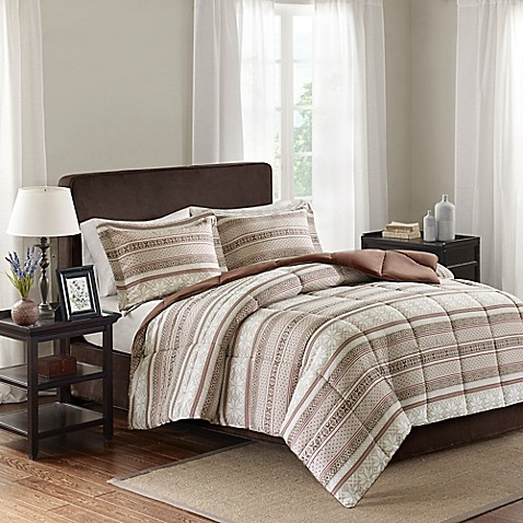 buy premier comfort fairbanks 3 piece scotchgard down alternative king cal king comforter set. Black Bedroom Furniture Sets. Home Design Ideas