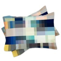 DENY Designs Mareike Boehmer Nordic Combination 30 King Pillow Shams (Set of 2)