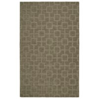 Kaleen Imprints Modern Circuit 2-Foot x 3-Foot Accent Rug in Taupe
